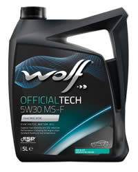 Wolf OfficialTech 5W30 MS F 5L